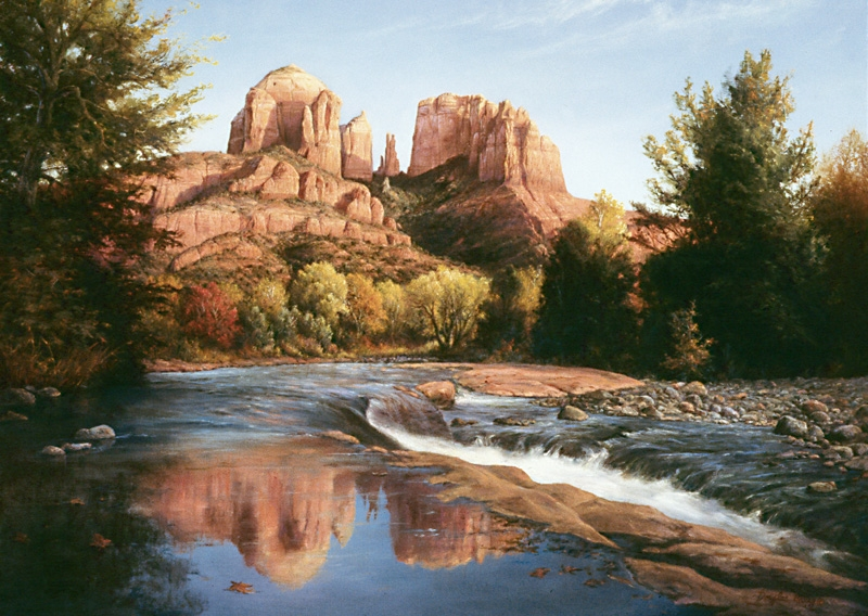 Quot Red Rock Crossing Quot Originals All Artwork Douglas
