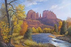 Red Rock Crossing Autumn